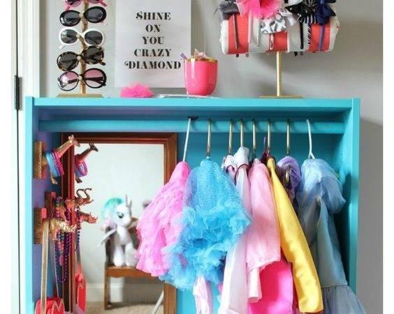 Dress Storage Kids Ikea Billy Bookcase Hack Diy