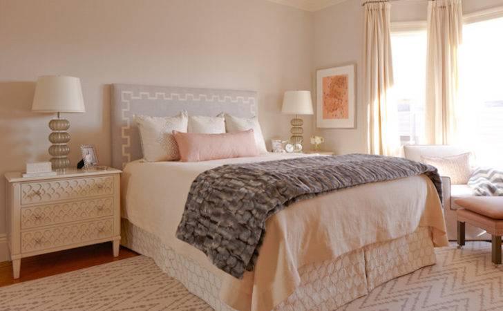 Dressed White Pink Bedding Pale Gray Bedroom Rug Design Ideas
