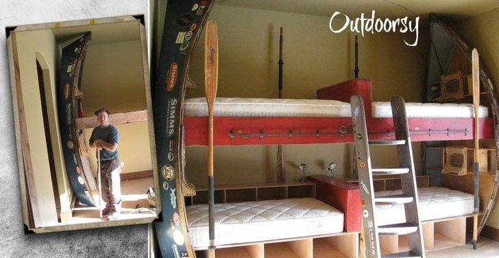 Drift Boat Bunk Beds Crazy Bunkies Pinterest