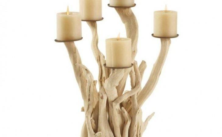 Driftwood Candelabra Home Pinterest