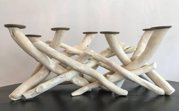 Driftwood Candelabra Sold