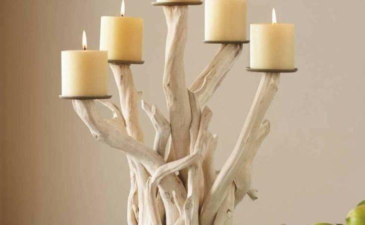 Driftwood Candelabra Vivaterra Home Pinterest