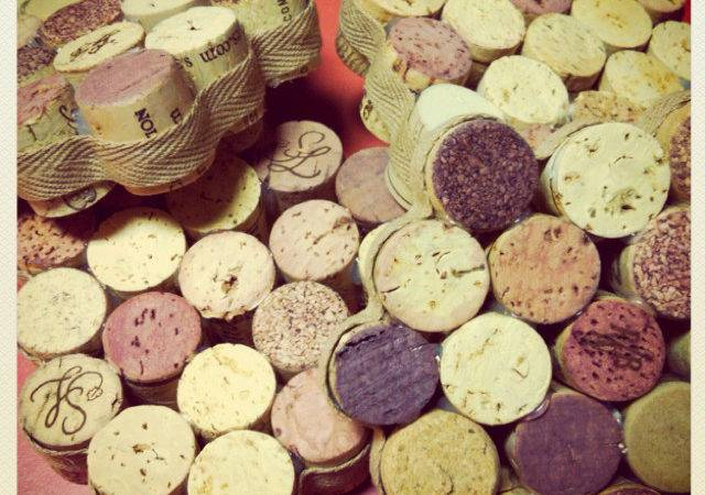 Drink Coasters Made Wine Corks Getting Crafty Pinterest