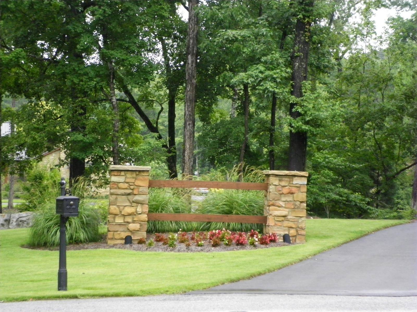 Driveway Entrance Landscaping