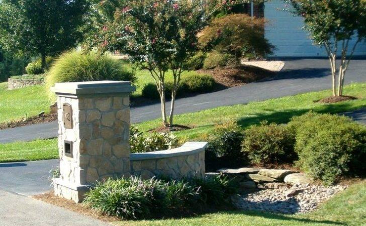 Driveway Entrances Landscaping Stone