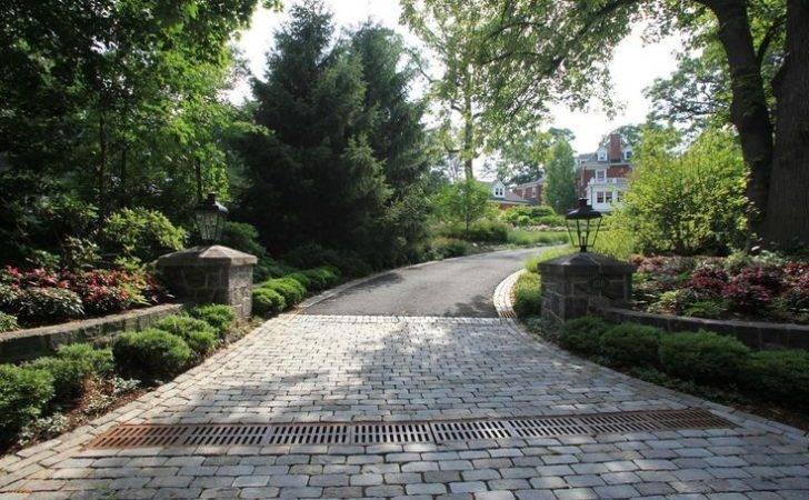 Driveway Entrances Summit Landscape Design Landscaping
