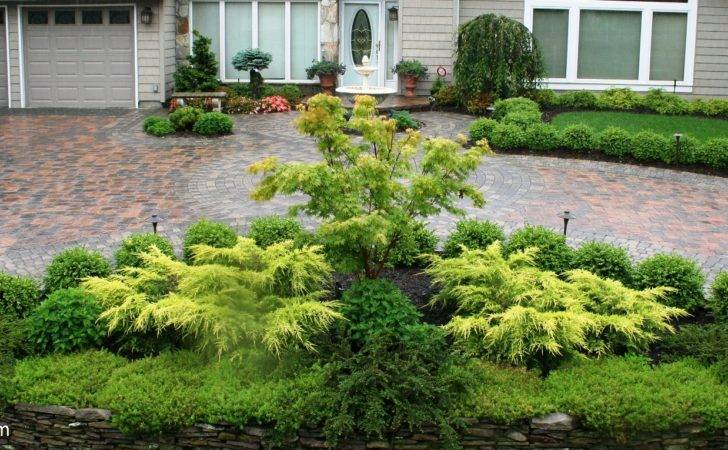 Driveway Landscaping Ideas Line