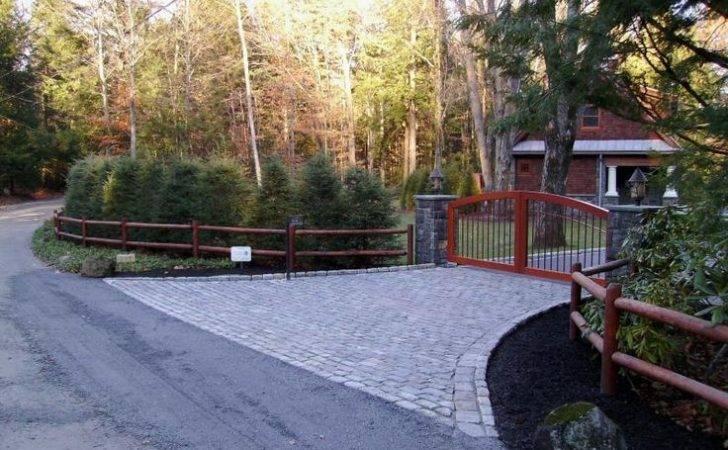 Driveways Entrance Cabin Lak Ideas Landscape