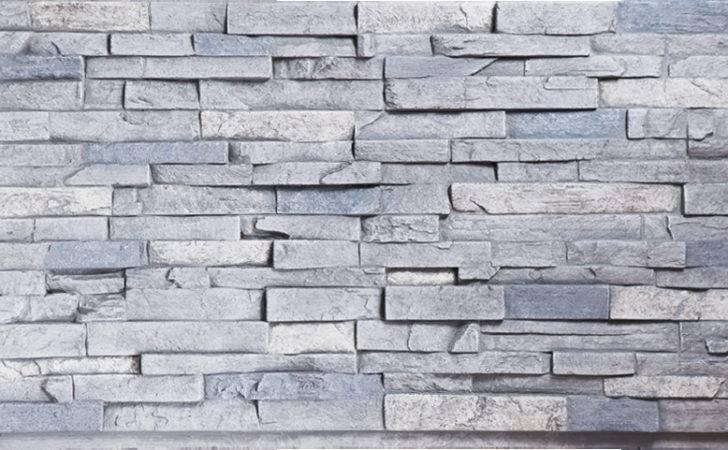 Dry Stack Stone London Gray Panels Decor