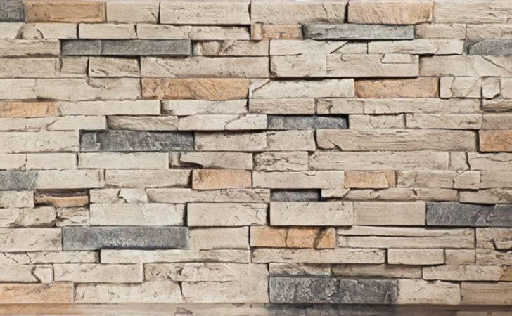 Dry Stack Stone Quarry Gray Panels Decor