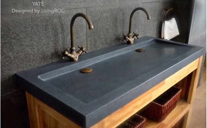 Dual Bathroom Sink Double Vanity Modern