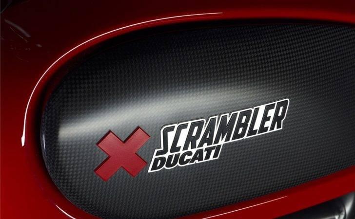 Ducati Accessories Scrambler Urban Enduro Tank Decal Set