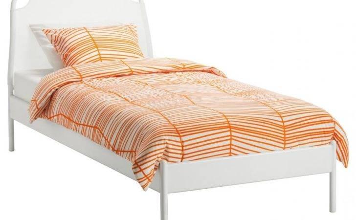 Duken Bed Frame White Length Quot Footboard