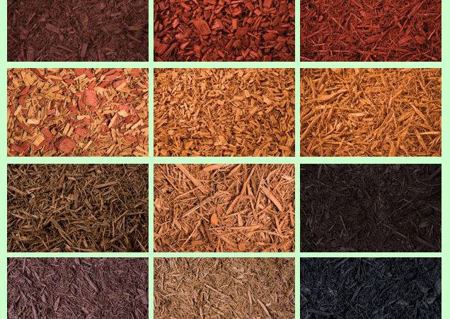 Dyed Mulch Colored Red Black Brown More