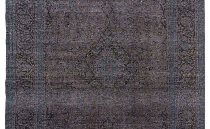 Dyed Persian Vintage Rug Overdyed Rugs Patchwork Carpets