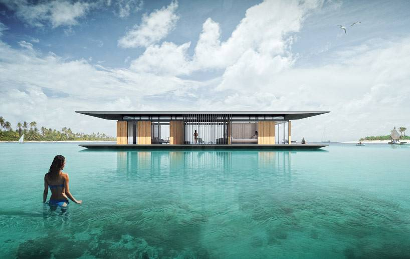 Dymitr Malcew Floating House Designboom