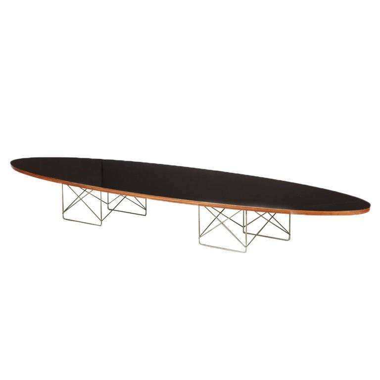 Early Charles Eames Surfboard Table Longer Available
