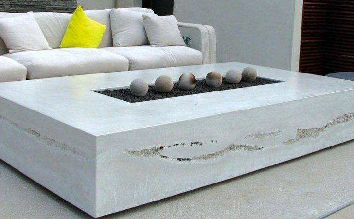 Ease Way Diy Fire Pit Table Project Concrete