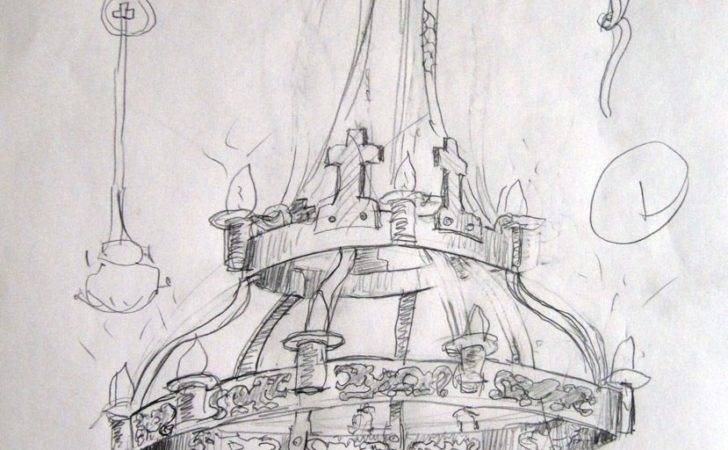 Easy Chandelier Drawing Ecuador Chronicles August