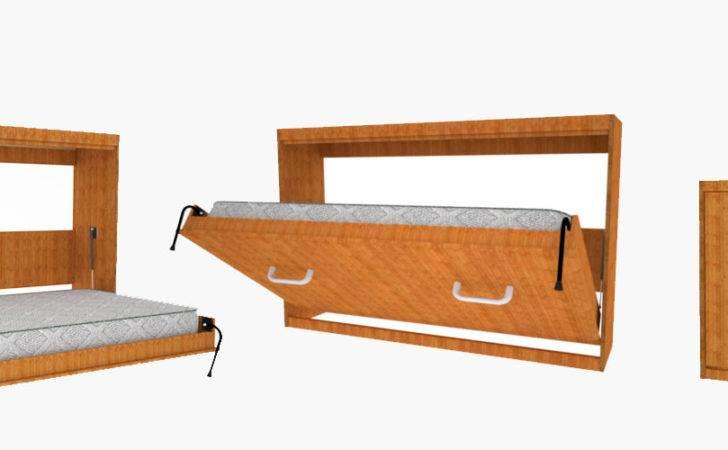 Easy Diy Murphy Wall Bed
