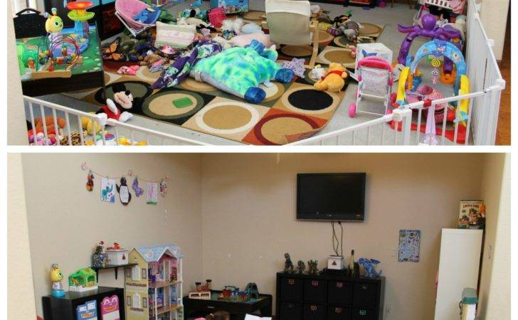 Easy Playroom Makeover Ideas