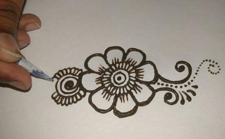Easy Simple Beautiful Mehndi Designs Hands Tutorials Matroj