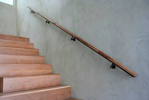 Easy Smooth Wooden Handrail