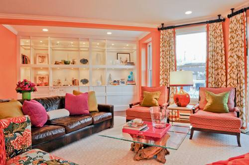 Eclectic Living Room Jamaica Plain Interior Designers Decorators