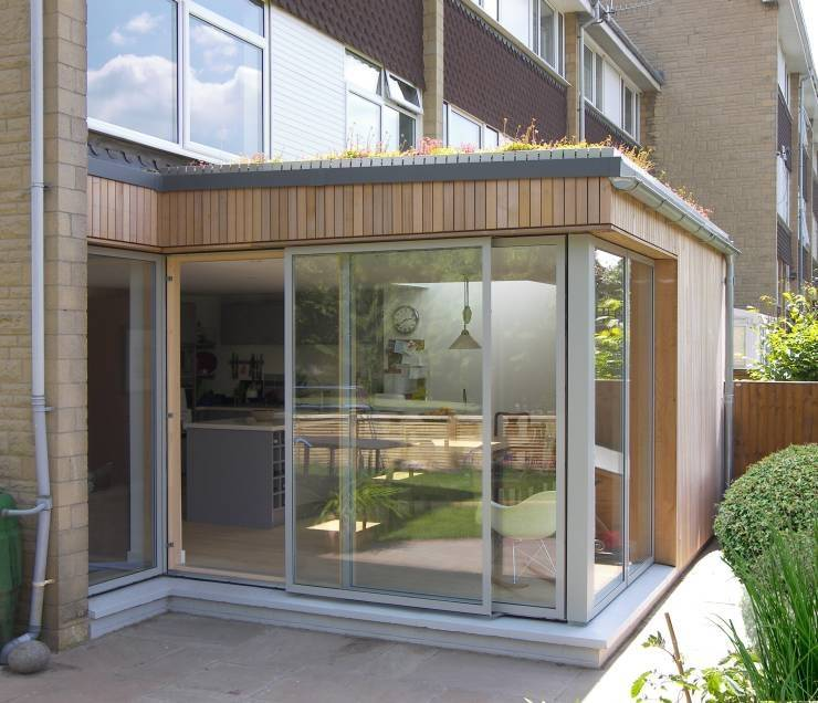 Eco Extension Townhouse Bristol Modern Dining Room