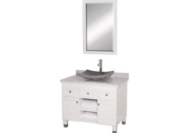 Eco Friendly Bathroom Vanity Black Granite Sink Newegg