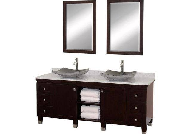 Eco Friendly Bathroom Vanity Black Granite Sinks Newegg