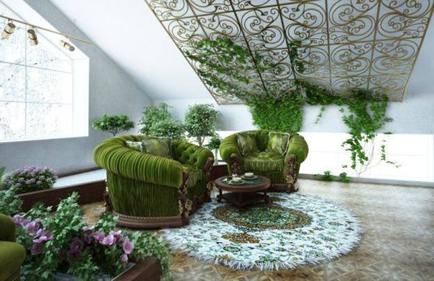 Eco Friendly Interior Decorating Tradescantia House Plants