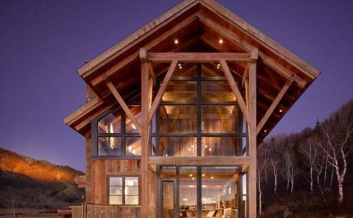 Eco Friendly Modern Rustic Resindence Colorado Digsdigs