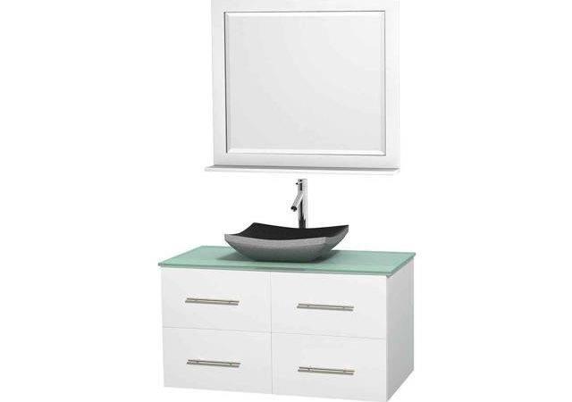 Eco Friendly Single Vanity Altair Black Granite Sink Newegg