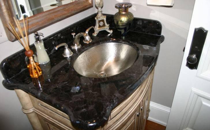 Eco Friendly Wood Stone Ceramic Sinks Bathroom Vanity Top Granite