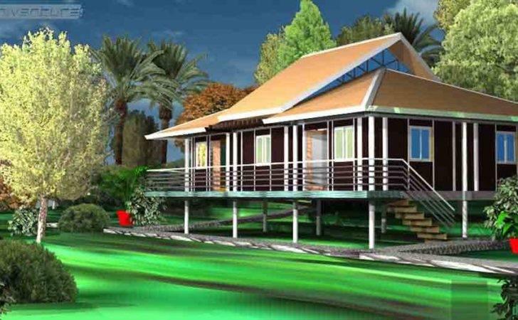 Eco Tropic Building Design Ideal Home Tropical Ghana