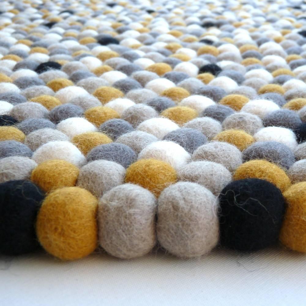 Ecofo Felt Ball Happy Larry Original Multicolor Rug
