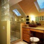 Efficient Your Attic Sleek Bathroom Design Ideas
