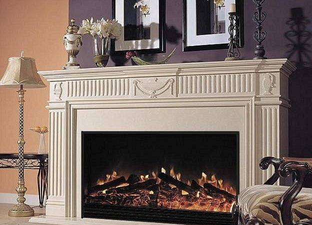 Electric Fireplace Mantel Packages Large Fireplaces