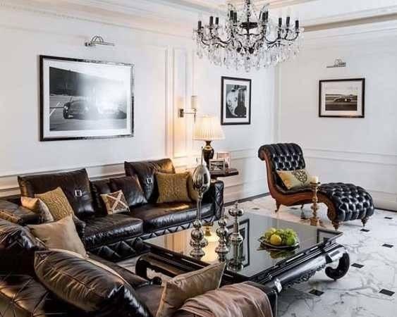Elegance Classic Style Create Gorgeous Masculine Interior Design