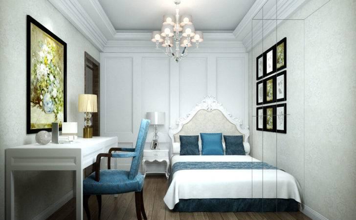 Elegant Bedroom Blue Chair House