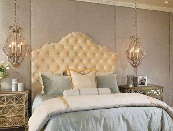 Elegant Blue Bedroom Dream Beds Pinterest