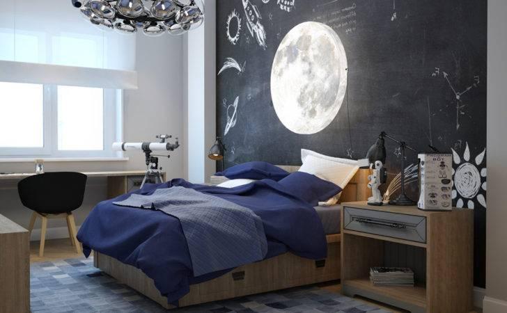 Elegant Blue Black Bedrooms Additional Home Decoration