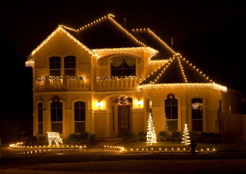 Elegant Christmas Yard Decorations Lights Idea Bedroom