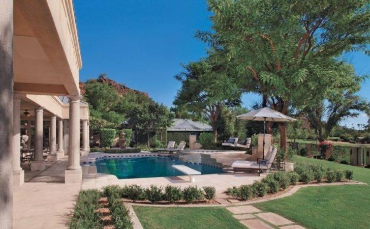 Elegant Classical Pool Area Luxe Interiors Design