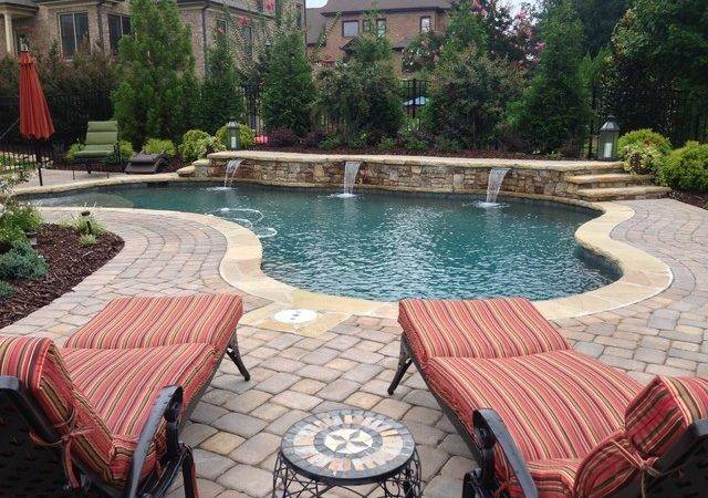 Elegant Form Pool Craftsman Atlanta Aqua Design