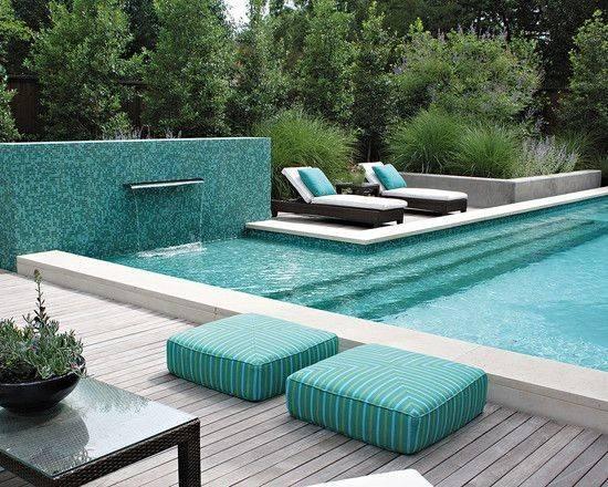 Elegant Green Swimming Pool Design Ideas Stuff Pinterest