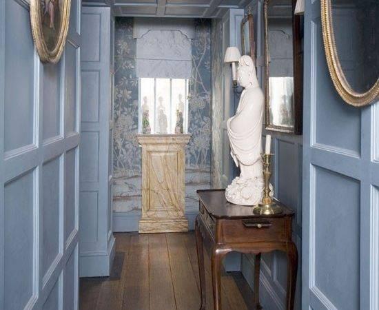Elegant Hallway Panelling Colour Schemes Housetohome