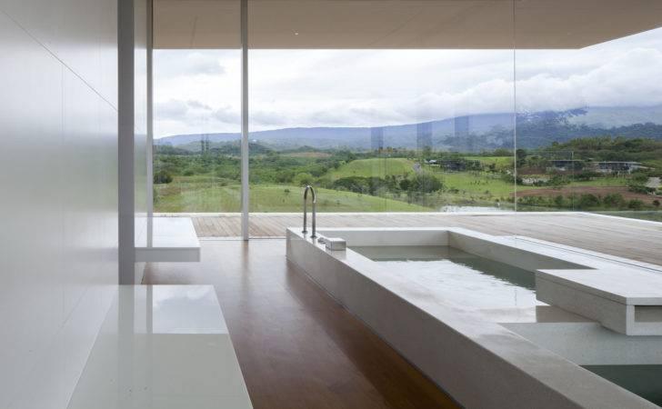 Elegant Indoor Swimming Pool House Design Mountain