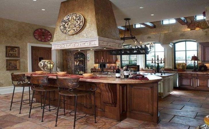 Elegant Italian Themed Kitchen Dcor House Remodel Pinterest
